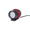 Red Cycling Products LED Sunriser II Helmlampe schwarz/rot